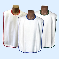 Deluxe Adult Bibs Snap Neck Closure (Each)