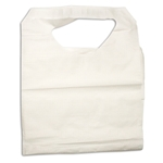 Disposable Poly Paper Adult Lap Bib (Per Case of 300)