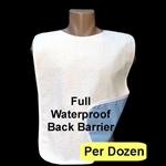 Adult Bib: Terry Cloth Waterproof
