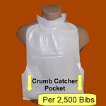 Master Carton Disposable Crumb Cather Adult Bib