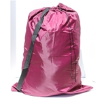 Laundry Bag Carry Strap Burgundy