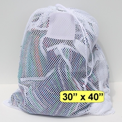 "Mesh Net Bag White 30"" x 40"""
