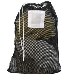 Laundry Bag Black Mesh Net