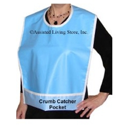 Bibs For Adults >> Adult Vinyl Wipe Clean Bib